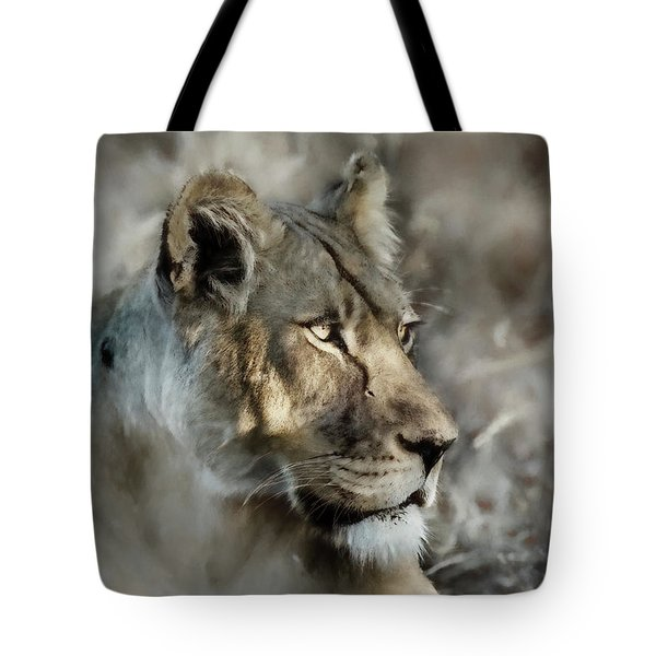 The Lioness  Tote Bag