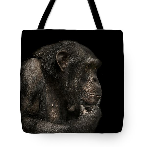 The Listener Tote Bag by Paul Neville