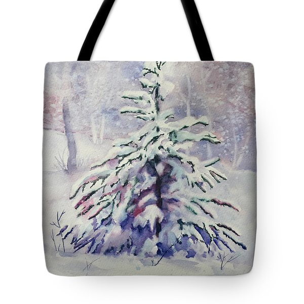 The Little Backyard Tree Tote Bag