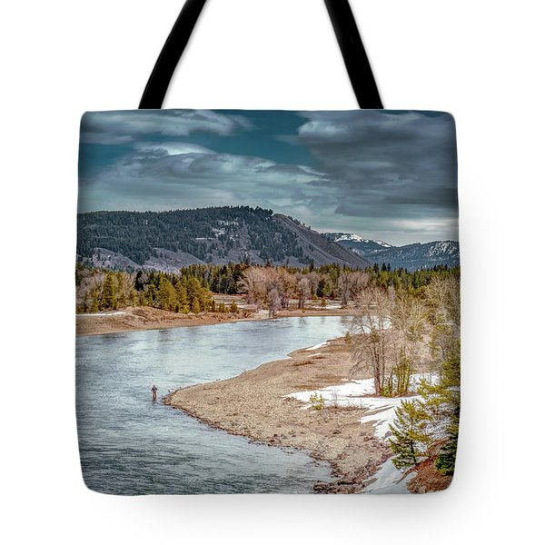 The Little Fisherman Tote Bag