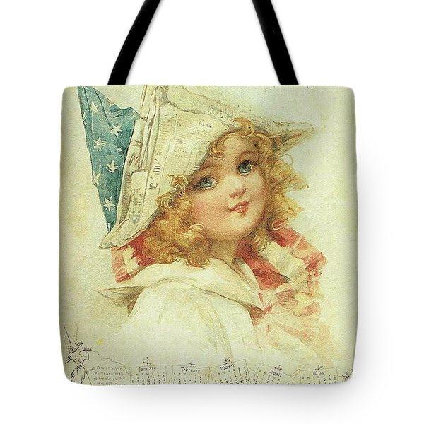 The Little Patriot Tote Bag