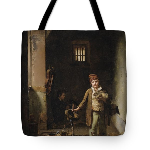 The Little Savoyards' Bedroom Or The Little Groundhog Shower Tote Bag
