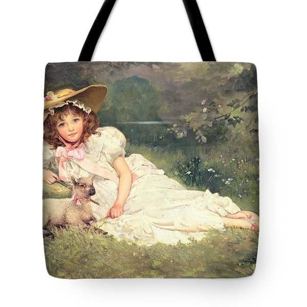 The Little Shepherdess Tote Bag