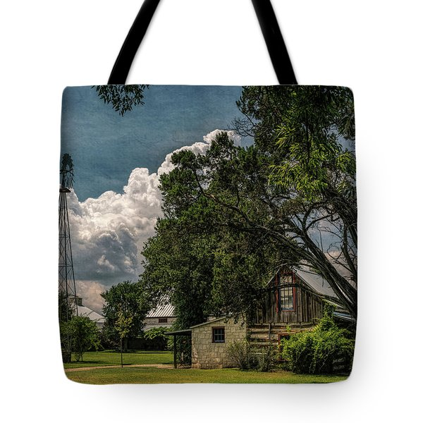 The Little Winery In Stonewall Tote Bag