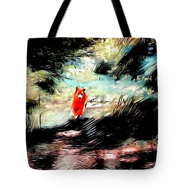 The Little Wood Nymph Tote Bag