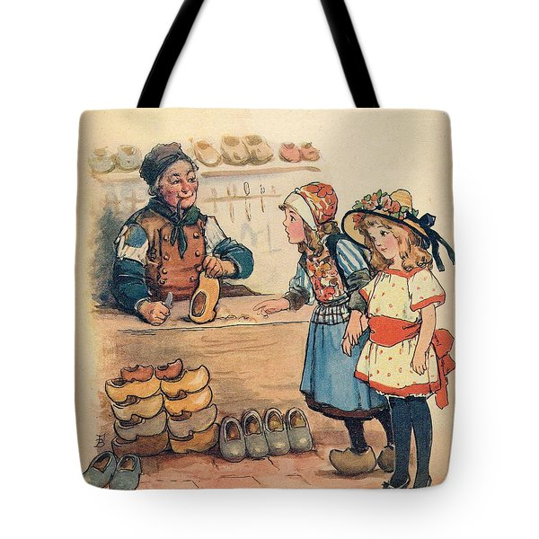 The Little Wooden Shoe Maker Tote Bag