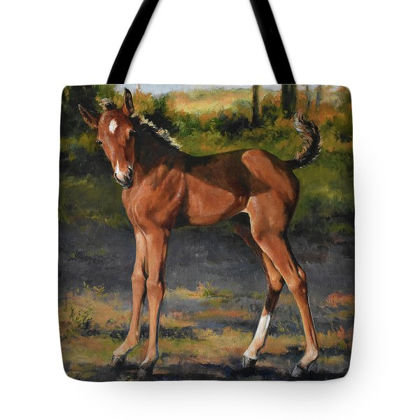 The Littlest Mustang Tote Bag