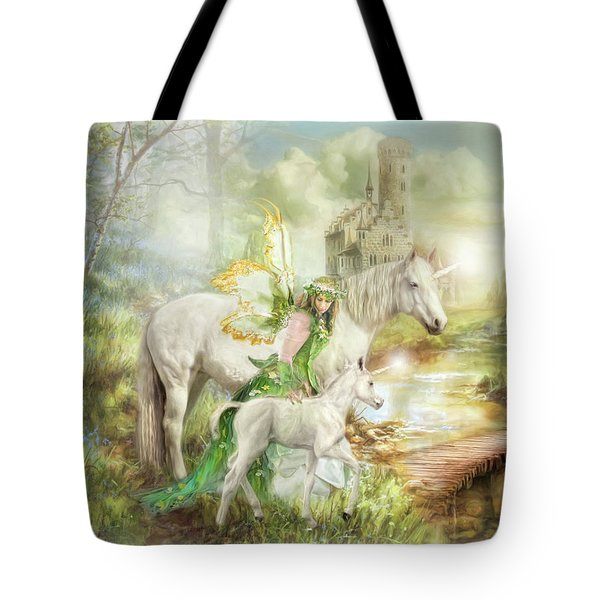 The Littlest Unicorn Tote Bag
