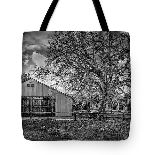 The Livery Stable And Oak Tote Bag