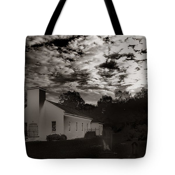 Tote Bag featuring the photograph The Living And The Dead by Joseph G Holland