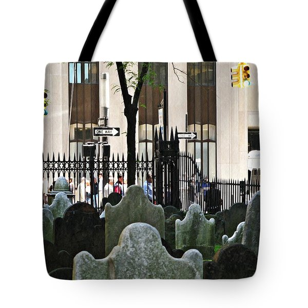 The Living And The Dead Tote Bag by Sarah Loft