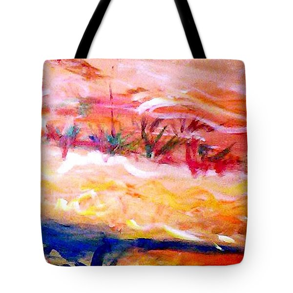 The Living Dunes Tote Bag