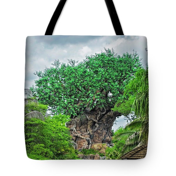 The Living Tree Walt Disney World Mp Tote Bag by Thomas Woolworth