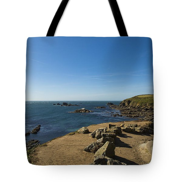 Tote Bag featuring the photograph The Lizard Point by Brian Roscorla