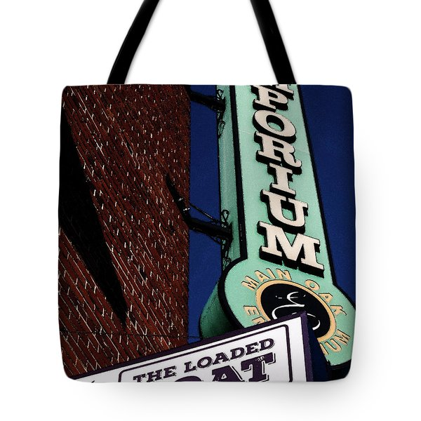 Tote Bag featuring the photograph The Loaded Goat by Randy Sylvia