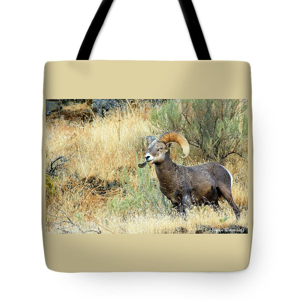 The Loner II Tote Bag by Steve Warnstaff
