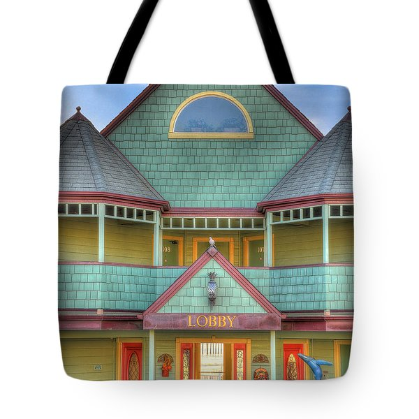 The Lobby Entrance Tote Bag