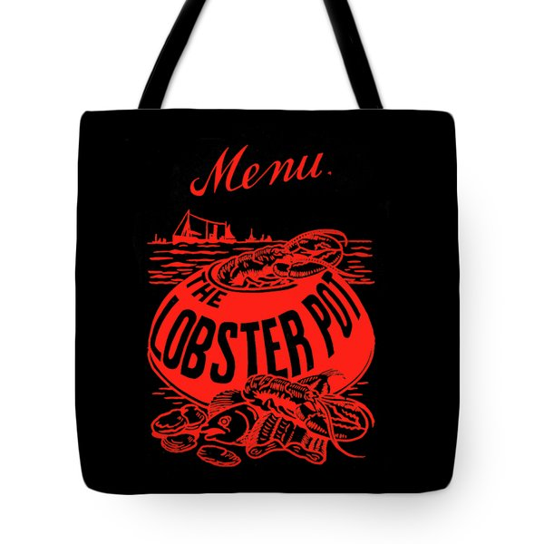 The Lobster Pot 1960s Tote Bag