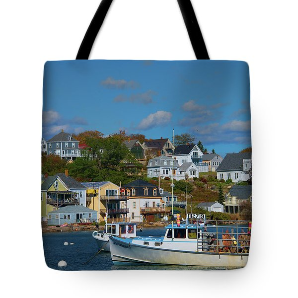 The Lobsterman's Shop Tote Bag