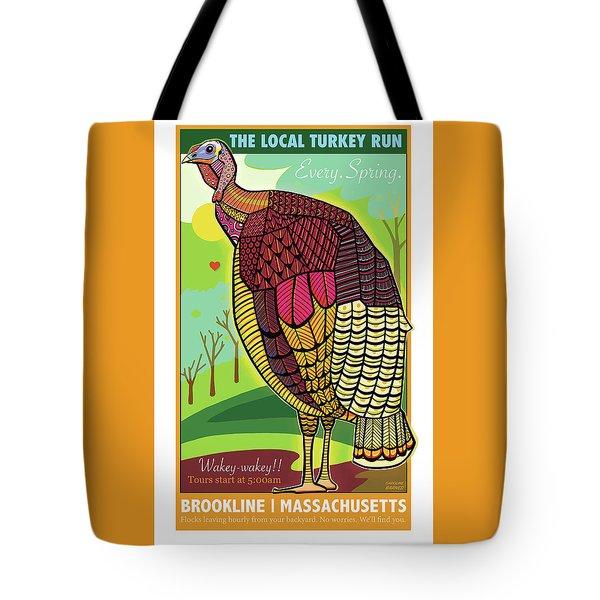 The Local Turkey Run Tote Bag