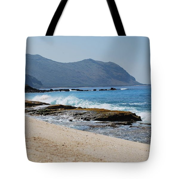 Tote Bag featuring the photograph The Local's Beach by Amee Cave
