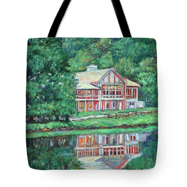 The Lodge At Peaks Of Otter Tote Bag