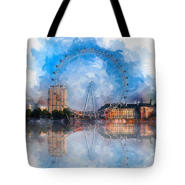 The London Eye Tote Bag