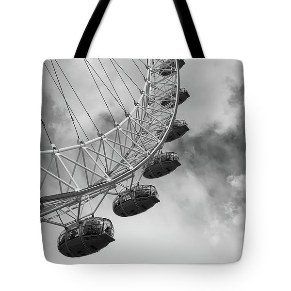 The London Eye, London, England Tote Bag by Richard Goodrich