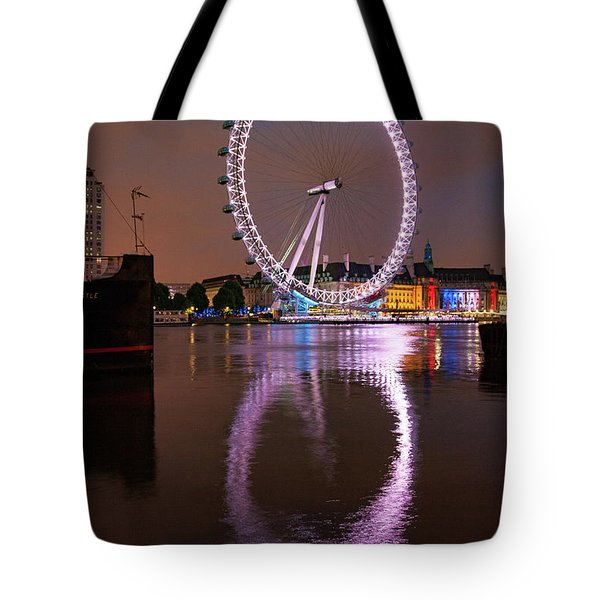 The London Eye Tote Bag by Nichola Denny