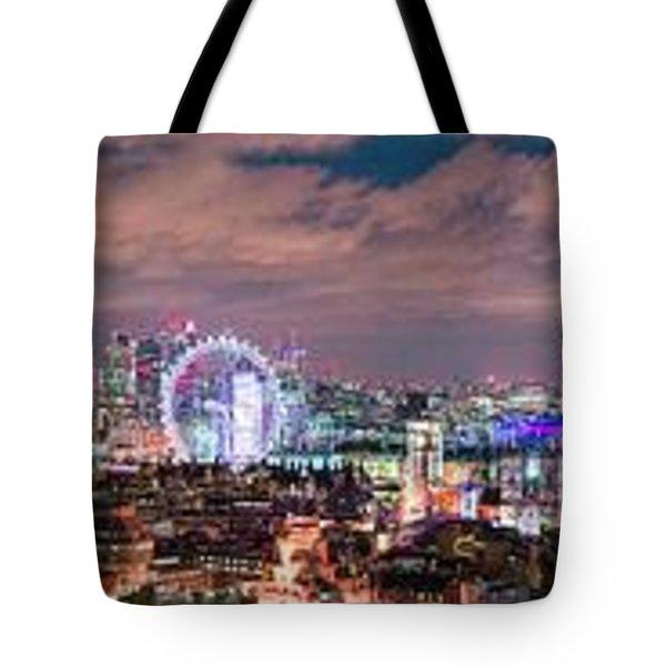 The London Skyline Tote Bag