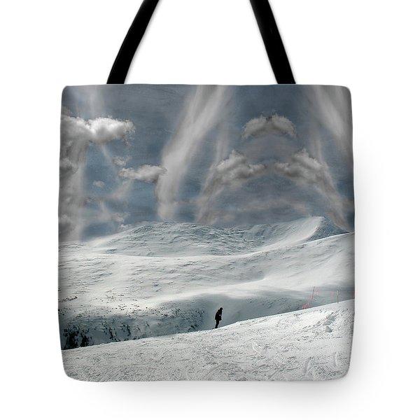 The Lone Boarder Tote Bag