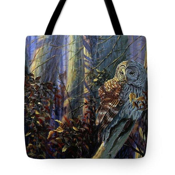 The Lone Hunter Tote Bag