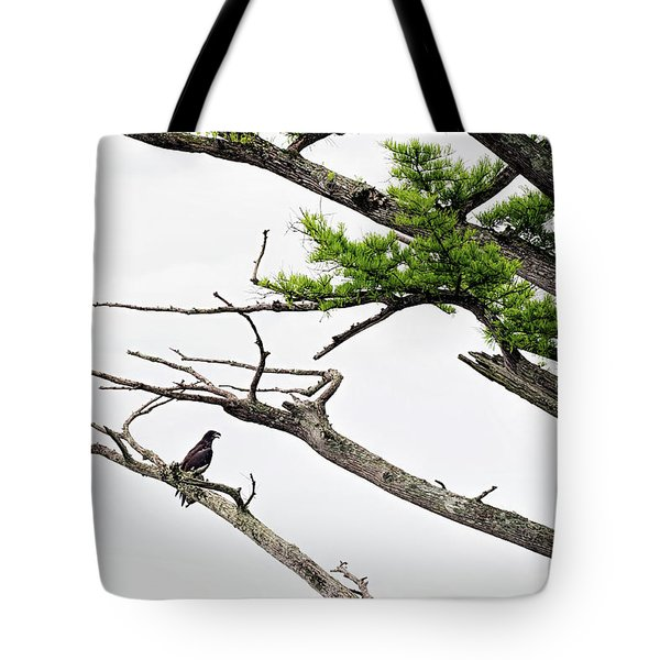 The Lone Osprey Tote Bag