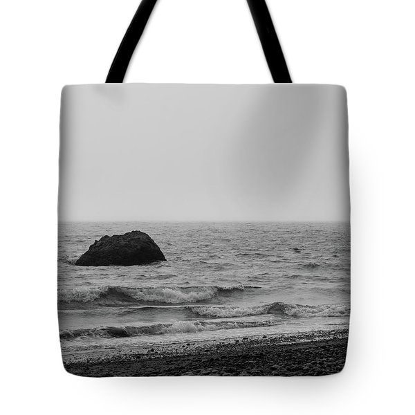 The Lone Rock Tote Bag