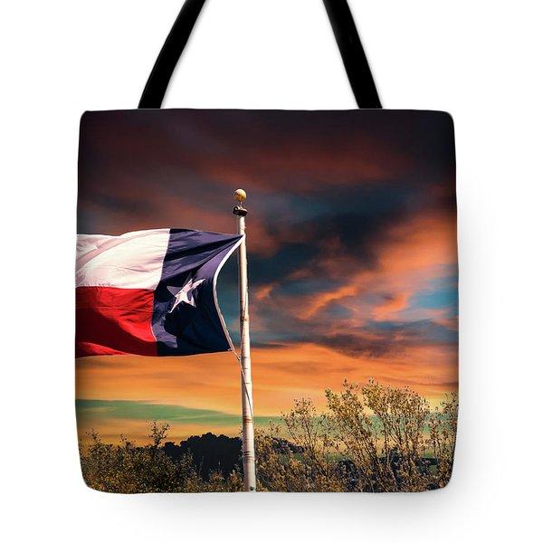 The Lone Star Flag Tote Bag