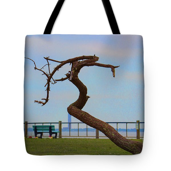 The Lone Tree Tote Bag by Roberta Byram