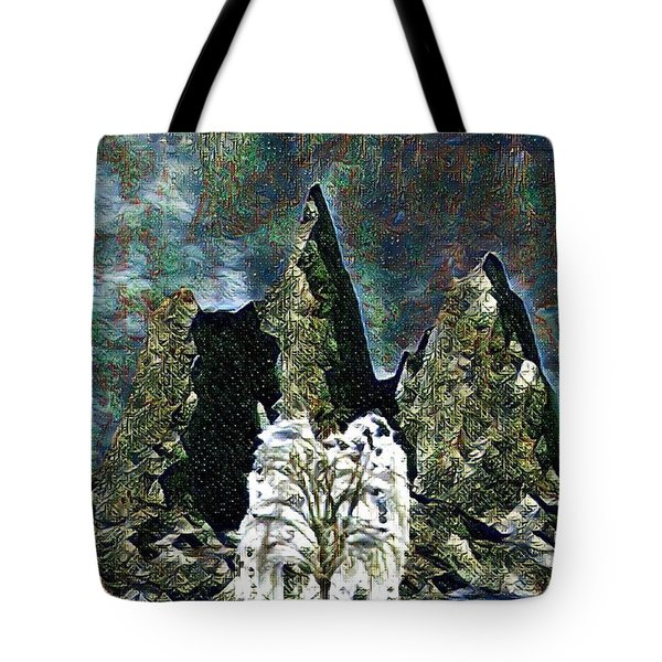 The Loneliest Tree Tote Bag
