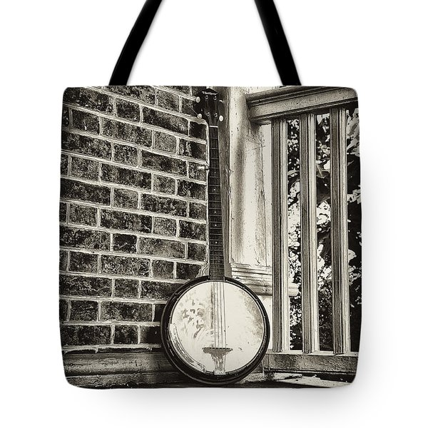 The Lonely Banjo Tote Bag by Bill Cannon