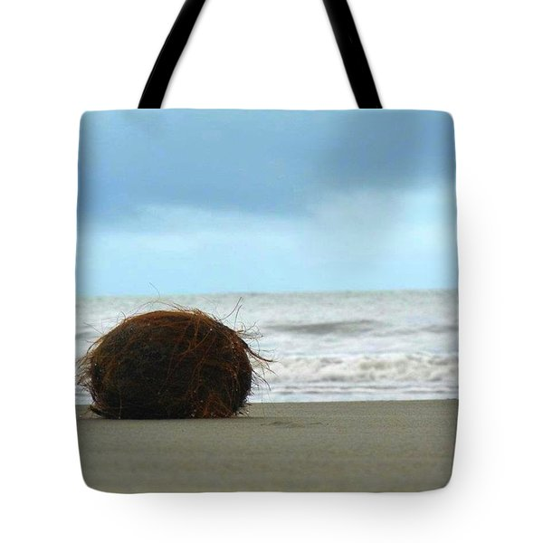 The Lonely Coconut Tote Bag