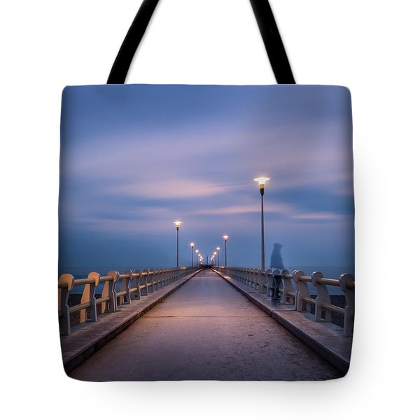 The Lonely Girl Tote Bag