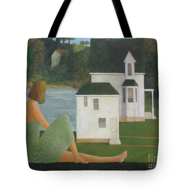 The Lonely Side Of The Lake Tote Bag
