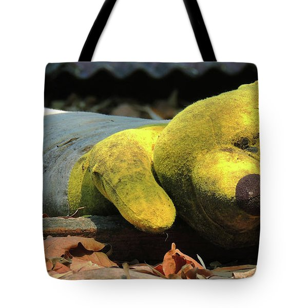 The Lonely Teddy Bear Tote Bag