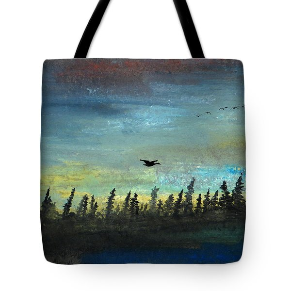 The Loner Tote Bag by R Kyllo