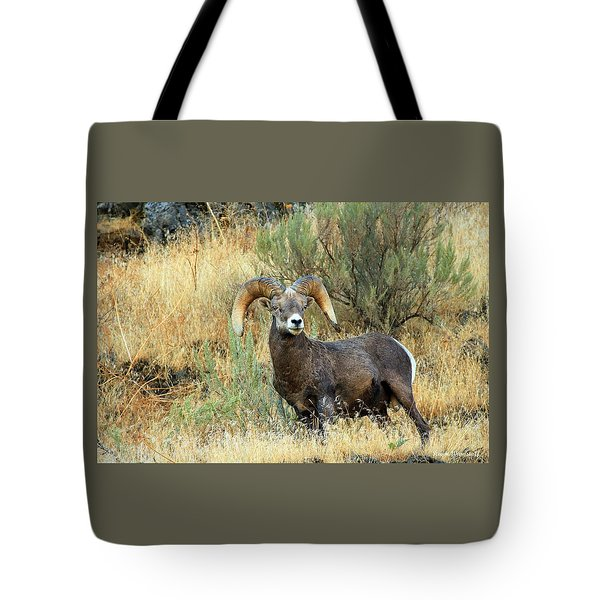 The Loner Tote Bag by Steve Warnstaff
