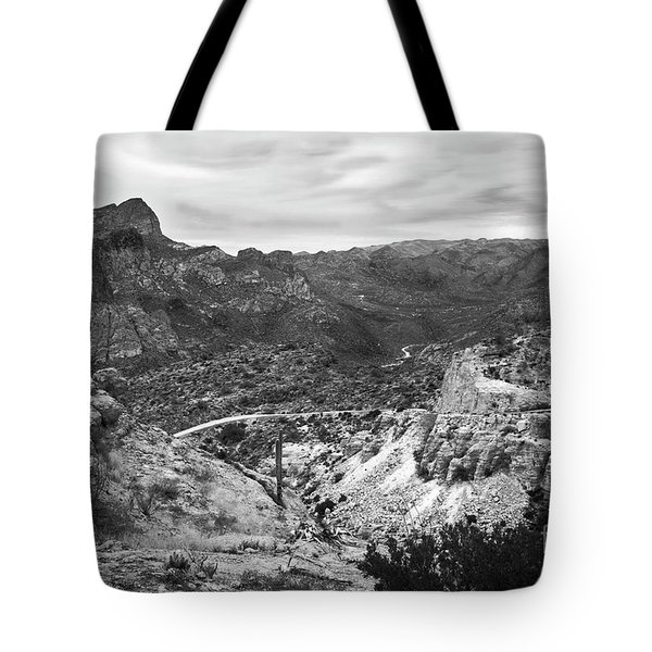 The Long And Winding Trail Tote Bag by Lee Craig