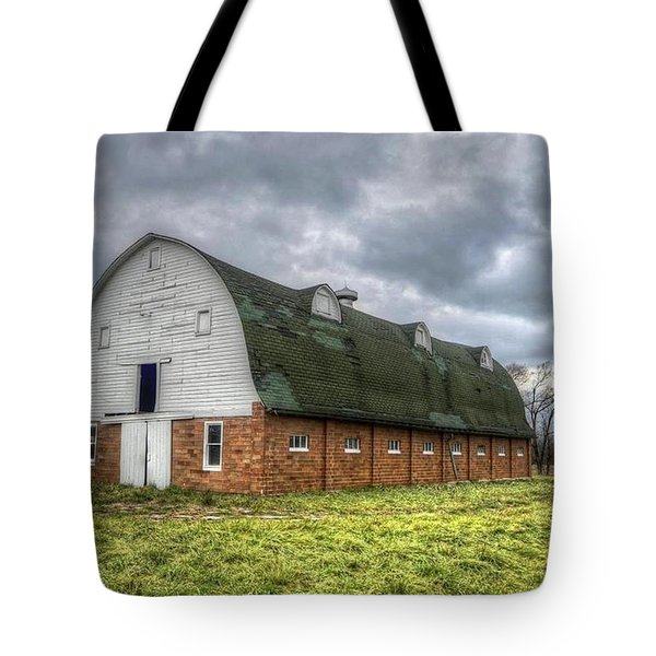 The Long Barn Tote Bag