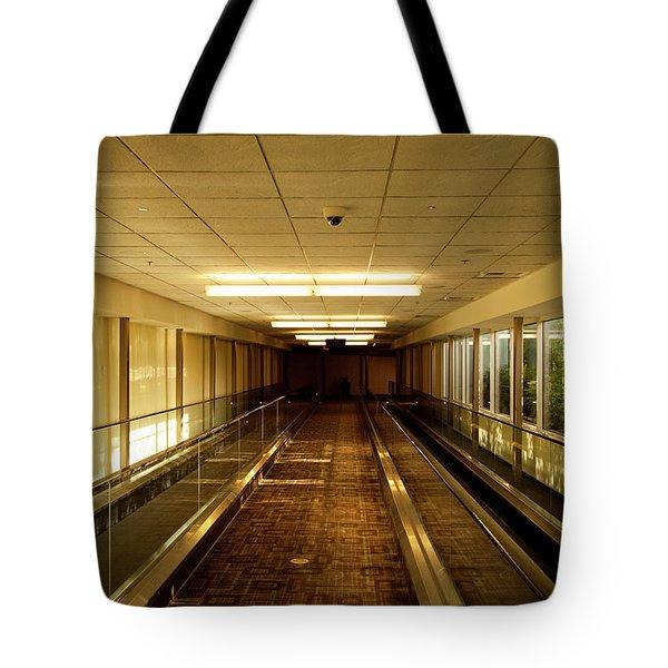 The Long Hall Tote Bag