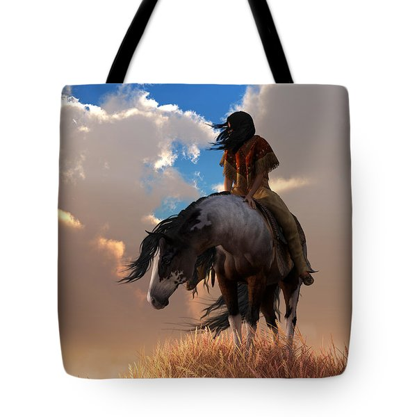 Tote Bag featuring the digital art The Long Journey Home by Daniel Eskridge