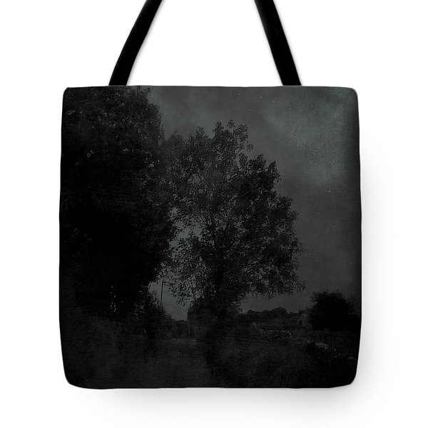The Long Road Into The Night Tote Bag