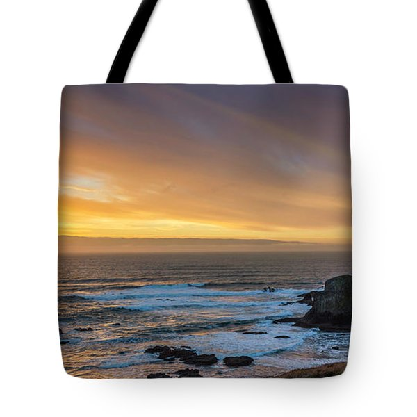 The Long View Tote Bag by James Heckt
